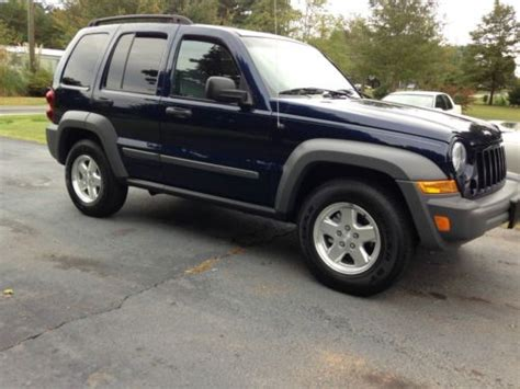 Purchase Used 2006 Jeep Liberty Sport Crd 4wd Turbo Diesel