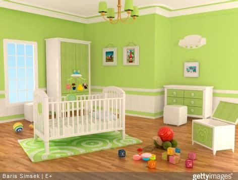chambre bébé verte utilisez un simulateur de couleurs dans la chambre de