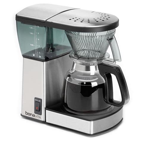 Bonavita Exceptional Brew 8 Cup Coffee Maker With Glass Carafe ShopLavazza