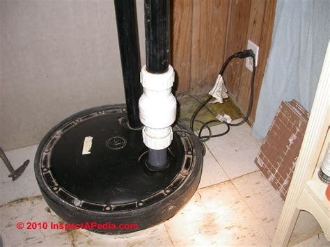 basement bathroom sewage ejector auto forward to correct web page at inspectapedia