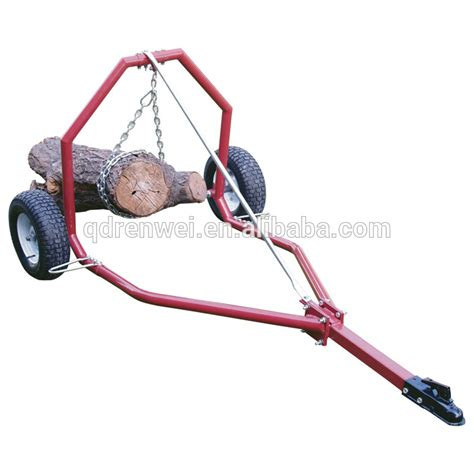 log carrier with wheels atv log skid arch and holder with four wheels buy arch 7152