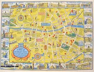 A New Plan Of Dublin City  Map Title  A Plan Of Dublin
