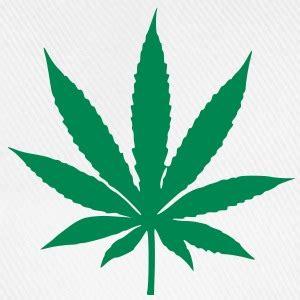 feuille de pot dessin casquettes et bonnets cannabis spreadshirt