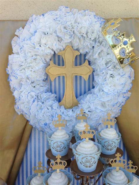 best 25 boy baptism party ideas on pinterest