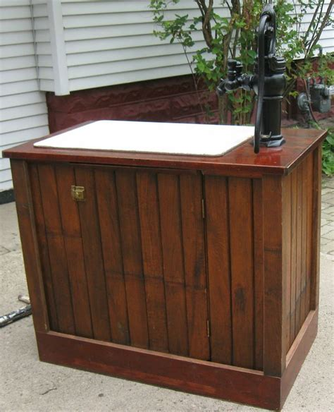 farm sink base cabinet cast iron farm sink hand water pump custom constructed