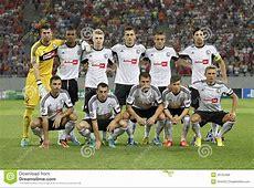 Legia Varsovie photo éditorial Image du football