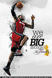 Lebron James Finals Wallpaper ( Iphone Version ) by ...