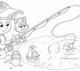 Pond Coloring Pages Getdrawings Printable Getcolorings Print sketch template