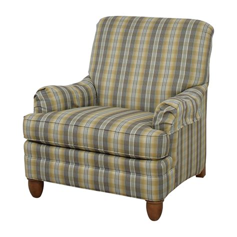 ethan allen armchair 79 ethan allen ethan allen plaid arm chair chairs 3598
