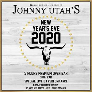 New Years Eve at Johnny Utah's | NYC New Years Eve 2021