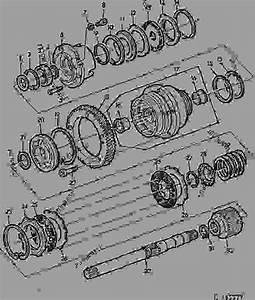 Pto Clutch  29  - Tractor John Deere 3350 - Tractor