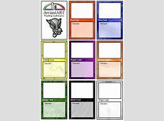 Blank Trading Card Template beneficialholdingsinfo