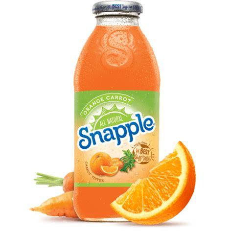 Snapple Orange Carrot Juice Drink | Southern Distributing