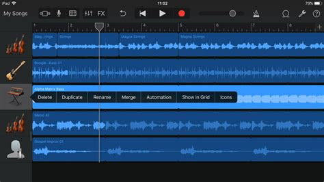 Garageband Track by How To Edit Songs And Tracks In Garageband For
