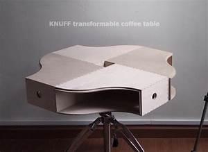 Table Transformable Ikea : knuff transformable coffee table ikea hackers ikea hackers ~ Teatrodelosmanantiales.com Idées de Décoration