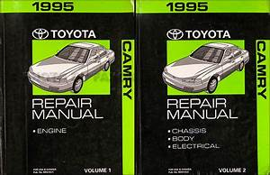 1995 Toyota Camry Wiring Diagram Manual Original