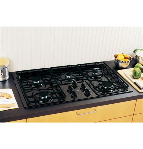ge  built  gas cooktop jgpdetbb ge appliances
