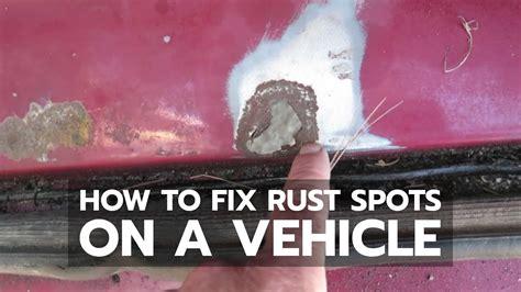 rust fix spots tools simple