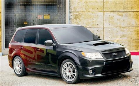 Forester Performance by Subaru Unveils High Performance Forester Xti Concept