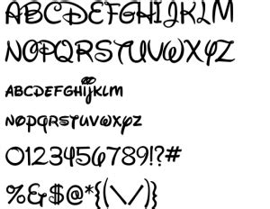 Font name newest most downloads. 14 Lovely Disney Letter Stencils for All | KittyBabyLove.com
