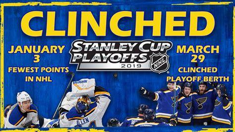 blues complete season long comeback  clinch playoff