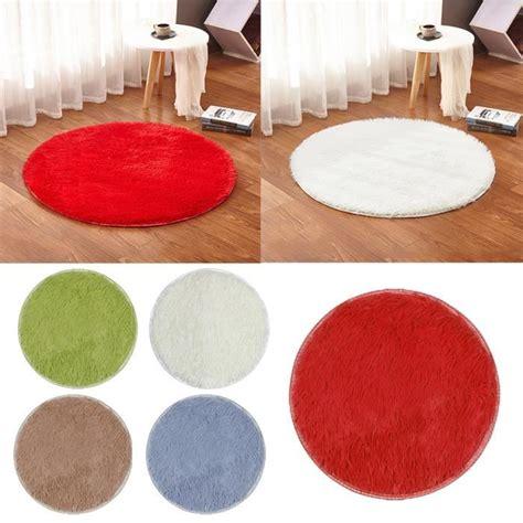 rouge cm tapis rond tapis salon chambre salle de bain