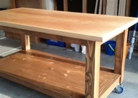 diy mobile workbench diy craft table  great work
