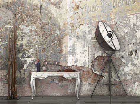 Tappezzeria Da Muro Carta Da Parati Effetto Muro In Vinile Downtown By Glamora