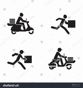 Delivery Icons Vector Format Stock Vector 185949410 ...