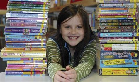what to buy your 9 year old girl for christmas 9 year devours 364 books in 7 months uk news express co uk