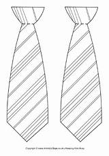 Tie Potter Harry Template Coloring Printable Necktie Bookmark Father Printables Crafts sketch template