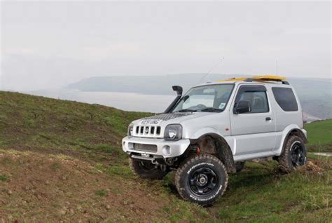 suzuki jimny off road like father like son total off road the uk 39 s only