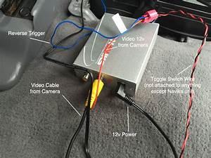 Diy Backup Camera Install 2002 Lexus Lx 470 W   Factory Nav