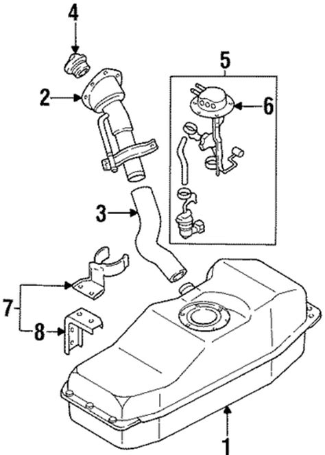 Fuel System Components For Nissan