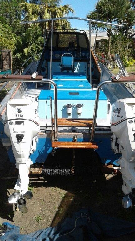 Lee Cat Boats For Sale by 26 Ft 8 Meter Lee Cat With Double Axle Trailer Bargain
