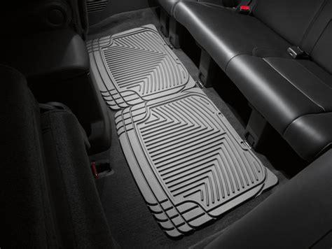 weathertech floor mats infiniti qx56 weathertech 174 all weather floor mats for infiniti qx56 2004 2010 grey ebay