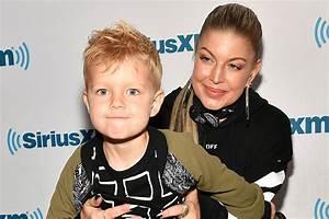 Fergie takes her son Axl to The Four Set   WHO Magazine