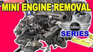 Mini Cooper Engine Removal  R56  N14