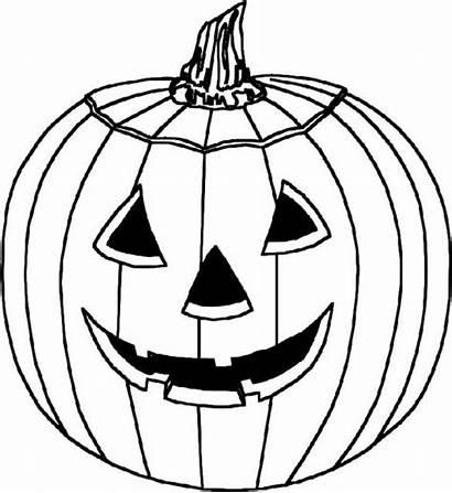 Coloring Pumpkin Printable Colouring Halloween Pumkin