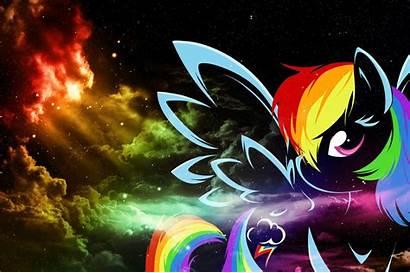 Pony Rainbow Dash Wallpapers Space Magic Friendship