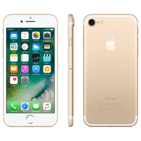 iphone 6 or 7 apple iphone 7 or 128 go achat smartphone sur