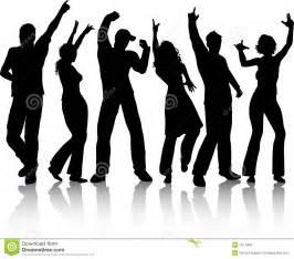 Black People Dancing Clip Art