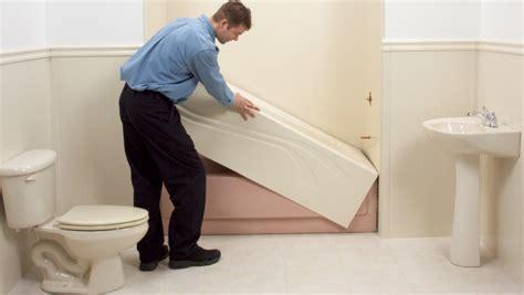 bathtub remodeling installing inserts  massages