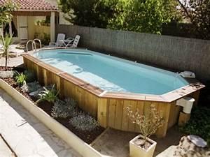 Deco Piscine Hors Sol : amenagement piscine exterieure hors sol ~ Melissatoandfro.com Idées de Décoration