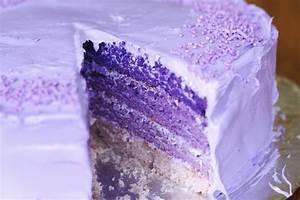 Purple Birthday Cake Recipe - MakeBetterFood.com