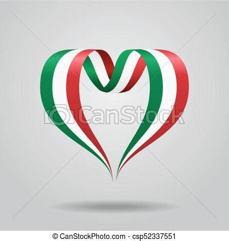italian flag vector illustration stock italian flag shaped ribbon vector illustration ital