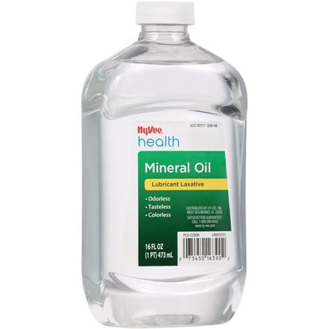 Hyvee Mineral Oil Lubricant Laxative  Hyvee Aisles