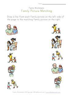 family worksheets  kids random themes printables