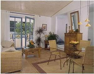 wohnzimmer mit balkon bildergalerie ferienwohnung With balkon teppich mit ostsee tapete