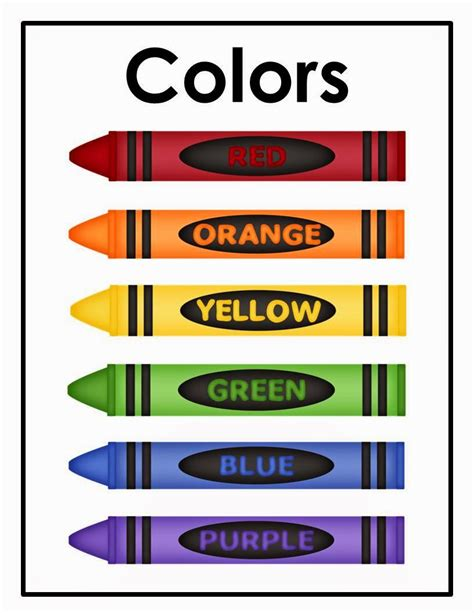 crayon labels template the chalk april 2015